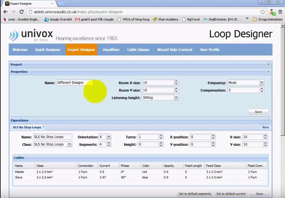 univox-loop-designer
