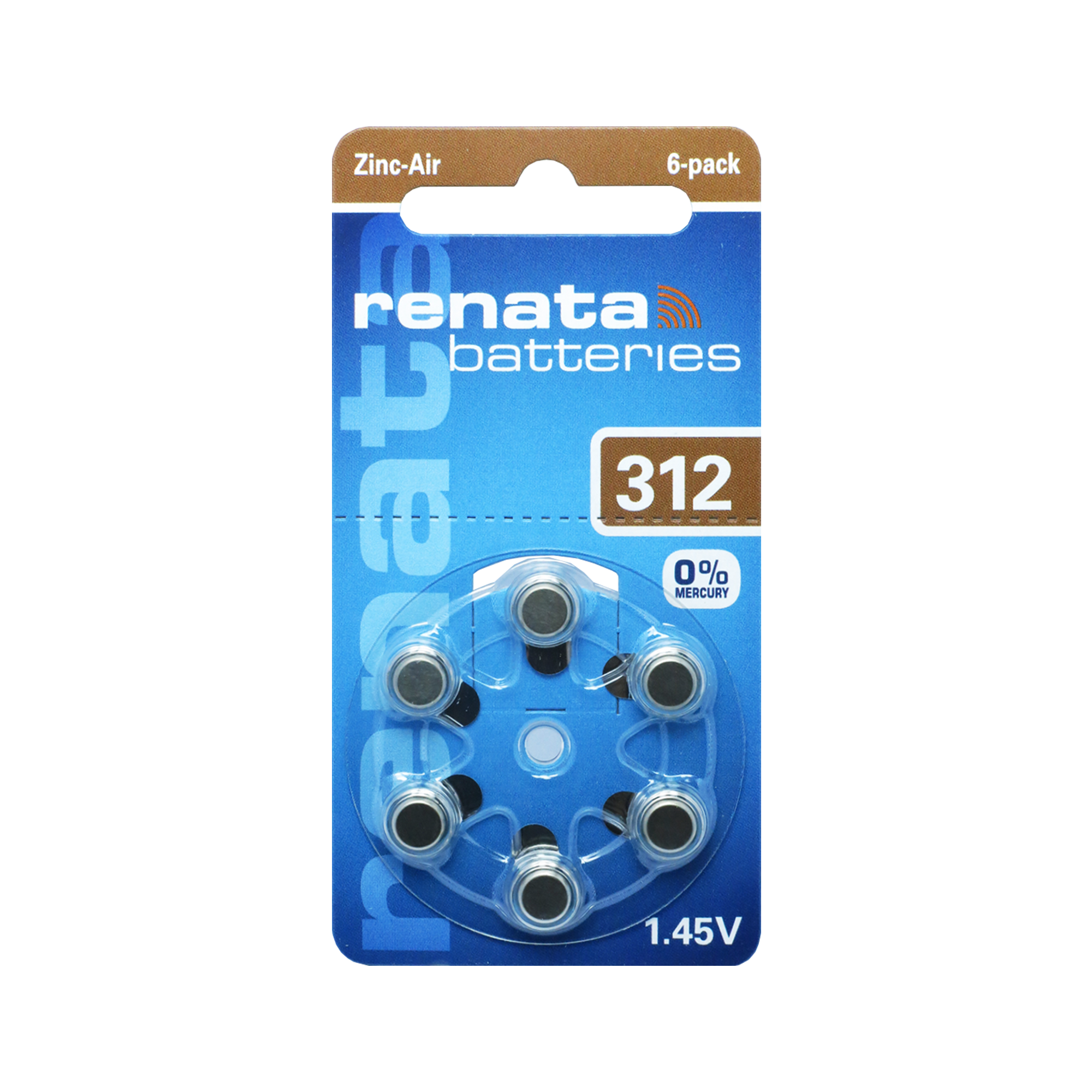 Renata ZA312 MF – Hörapparatsbatteri