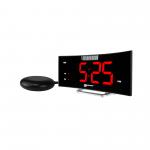 Wake 'n' Shake Curve - Digital väckarklocka med extra stark blixt